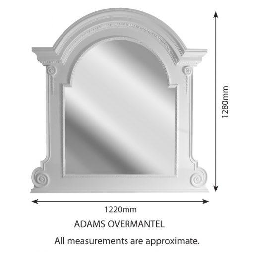 Fire Surround - FS-Adams-Overmantal