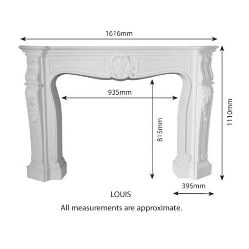 Fire Surround - FS-Louis